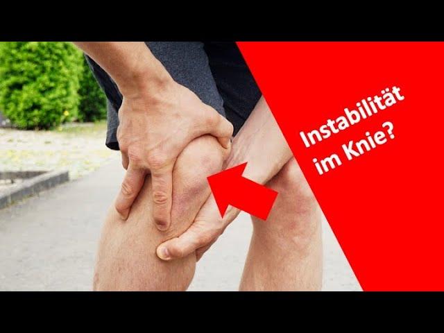 Wie fühlt sich ein instabiles Knie an?