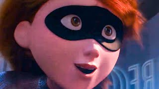 INCREDIBLES 2 'Elastigirl Motorcycle Chase' TV Spot Trailer (2018)