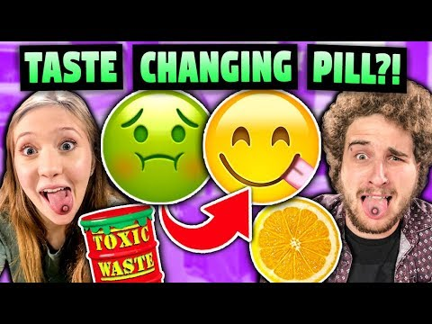 We Tried Pills That Make Sour Food Turn Sweet (ft. React Cast)