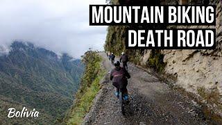 MOUNTAIN BIKING DEATH ROAD in BOLIVIA! - GoPro Hero7 Black