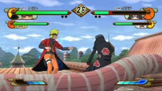 Naruto Shippuden Gekitou Ninja Taisen Special Gameplay PC