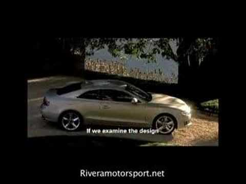 Audi A5 and Walter De Silva Designer in Italy