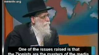 Rabbi Jew says zionist Israeli government and their regime must be totally eliminated