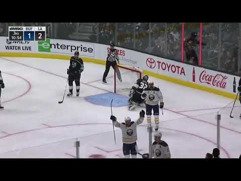 Buffalo Sabres vs Los Angeles Kings 10-14-17 Jack Eichel GOAL
