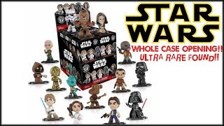 Star Wars Mystery Minis Toy Review & Case Opening Disney Funko Bobble Head Vinyl Figures