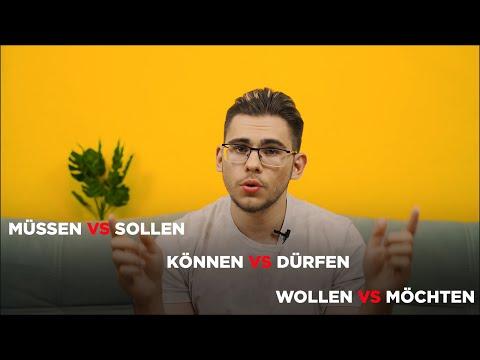 Урок немецкого языка #5. Модальные глаголы в немецком языке.