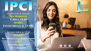IP Central de Itapeva - Culto de Domingo à Noite - 18/10/2020