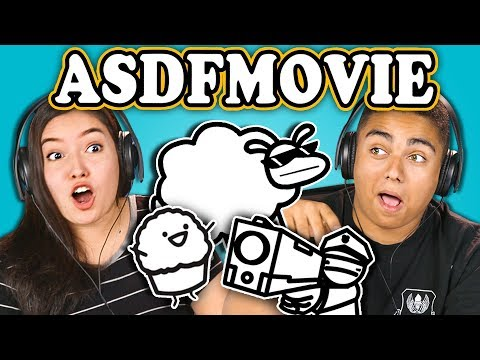 Thumbnail: TEENS REACT TO asdfmovie10