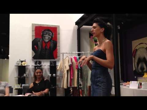 Buffi Jashanmal Book Signing: Buffi's Dress Design