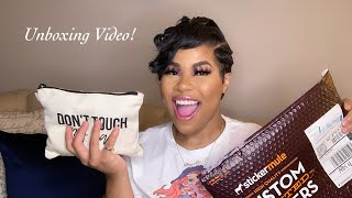 Unboxing Video ft  My Femailer, Glow By Tay Nicole & More! | Krystal Hall