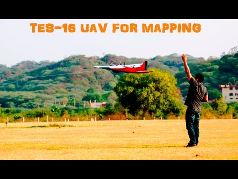 TES-16 UAV / Drone For Aerial Mapping / Survey