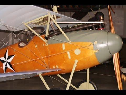 "① ""WALK ABOUT"" VIDEO TOUR - WW1 CLAUDE GRAHAME WHITE FACTORY - RAF HENDON MUSEUM - LONDON UK - 2016"