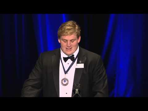2012 Campbell Trophy winner Barrett Jones (Alabama) - Acceptance Speech