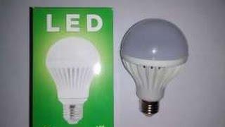 Ремонт світлодіодним (LED) лампи самостійно.