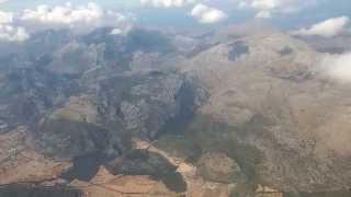 Landing at Palma de Mallorca Airport