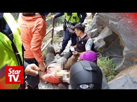 Malaysian tourist hurt in Taiwan quake succumbs to his injuries