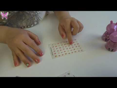 детский маникюр наклейки