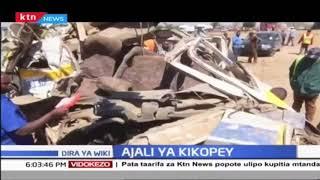 Watu kumi na mmoja wafariki katika ajali ya barabara Kikopey