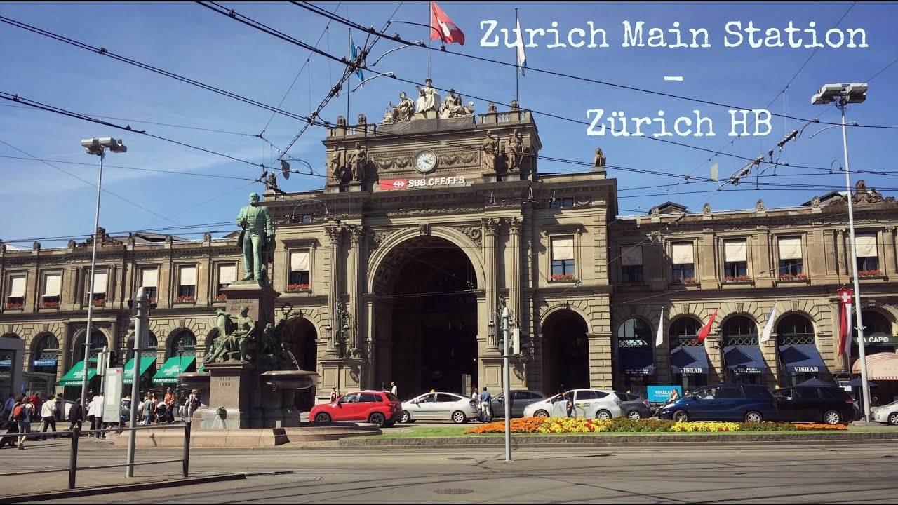 Zurich Main Station - Zürich HB on zurich rail station map, antwerp central station map, zurich germany map, amsterdam central map, zurich airport map, zurich s-bahn map, zurich bahnhof map,