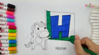 Learn coloring for kids 6