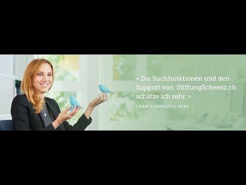 So funktioniert StiftungSchweiz.ch | 13'000 gemeinnützige Stiftungen auf einen Blick