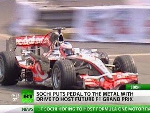 """""""Sochi Grand Prix: F1 comes to Russia in 2014"""""""
