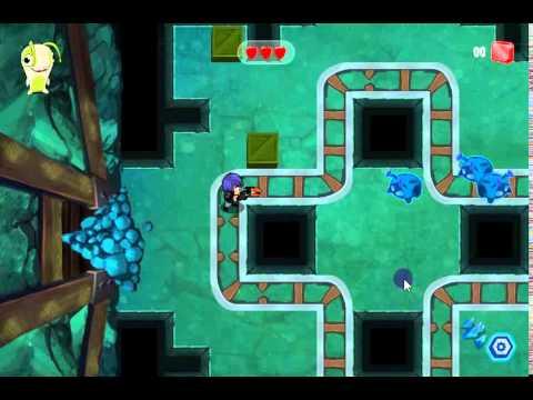 Slugterra Secret Shadow Mines Game
