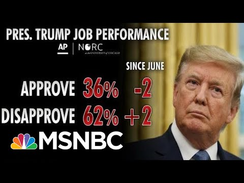 Polls Show President Donald Trump Struggling Among Key Groups | Morning Joe | MSNBC