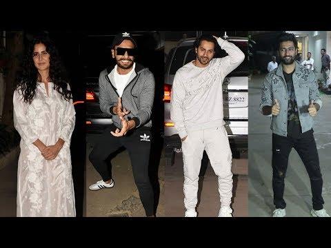 Ranveer Singh,Katrina Kaif,Varun Dhawan And Many Celebs Attended Special Screening Of U.R.I Mp3