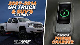 2007-2014 Wireless Phone Charging Install for GM Trucks & SUV's