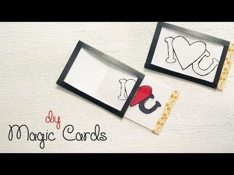 DIY Magic Card | Handmade Greeting Card | Heart Card