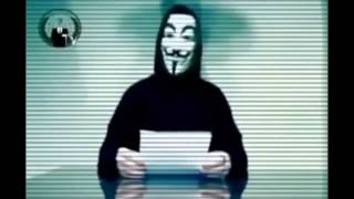 Anonymous - Message to the UK government