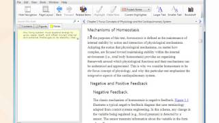 Bookshelf PC/Mac - Navigate inside e-textbook