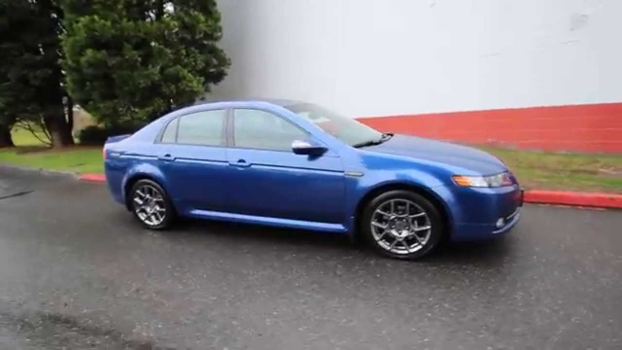 2008 Acura Tl Type S Navigation >> 2008 Acura Tl Type S Navigation Blue 8a004969 Redmond Seattle