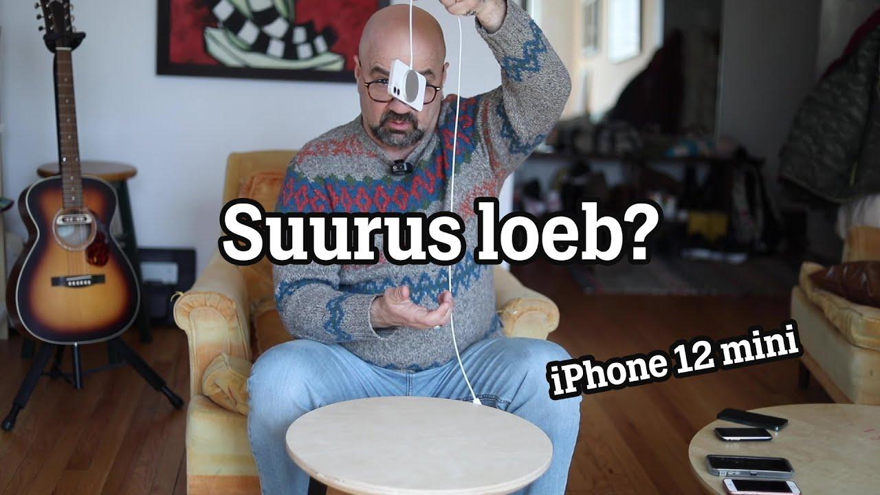Mis loom on iPhone 12 mini? #review #suurusloeb