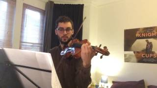 Country Road from Whisper of the Heart - Violin part. Hope you enjoy! Link to the score: http://docdro.id/8T2cKsk If you would like a tutorial on this song, please ...