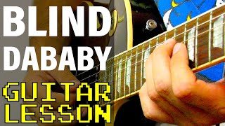 How To Play BLIND (feat. Young Thug) by DaBaby (Guitar Lesson)