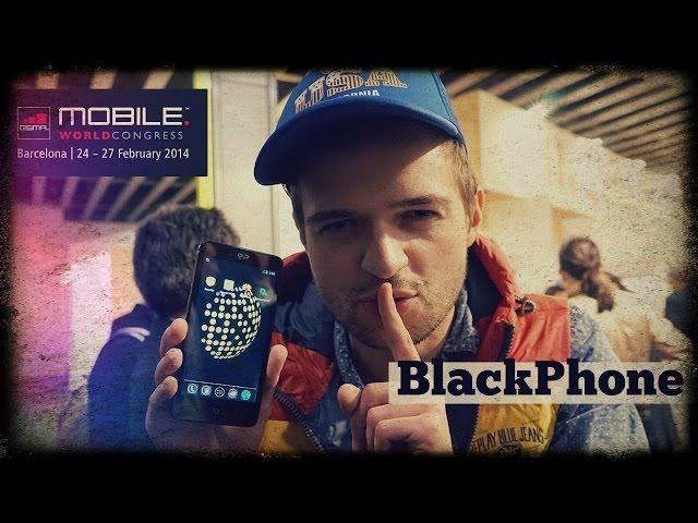 Первый обзор Black Phone. Смартфон дл� параноиков.