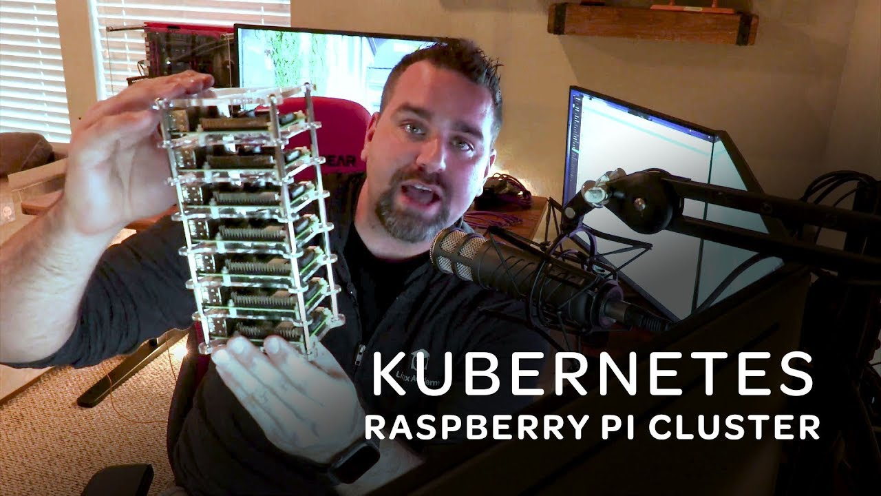 Kubernetes on RasPi Cluster – Anthony's Vlog 01