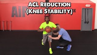 acl reduction exercises for basketball knee stability with pat the roc