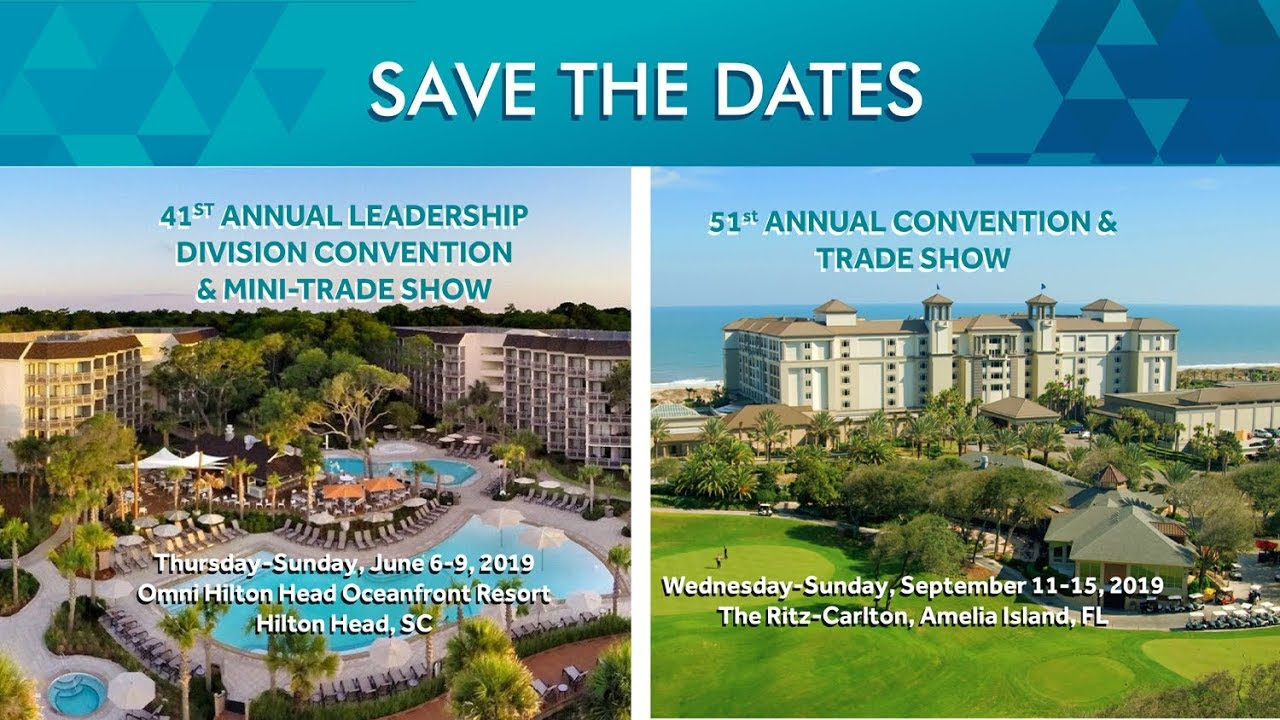 Save the Dates: CBA's 2019 Conventions