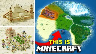 Transforming ALL of Minecraft - The ULTIMATE Survival World