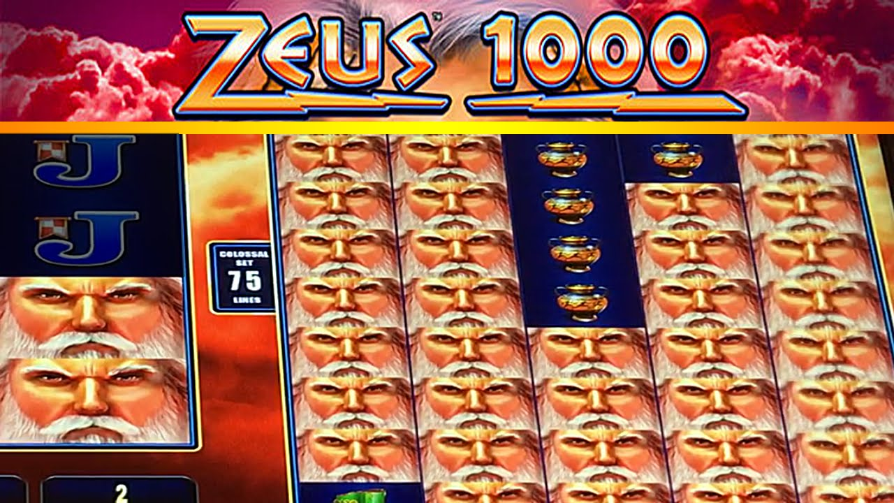 Free zeus 1000 slot machine