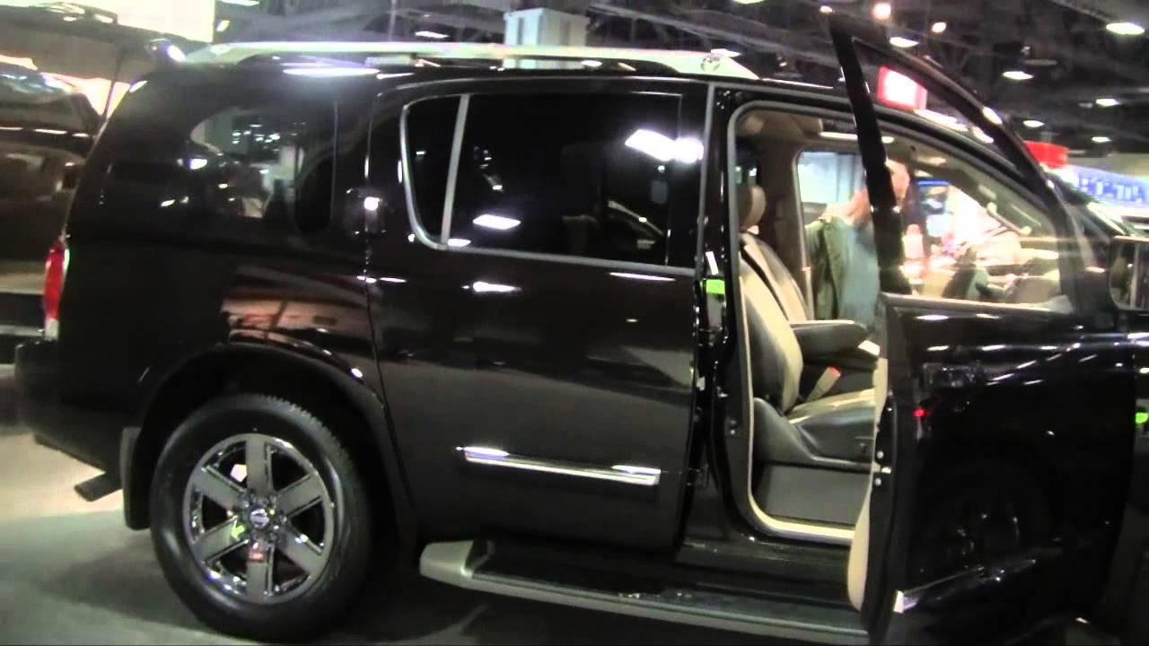 2015 nissan armada in 2014 washington dc auto show 2014 hd youtube vanachro Images