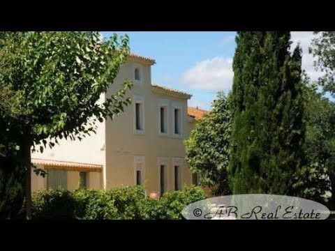 #Narbonne area *** Priced to sell *** Former Wine Domain entirely restored
