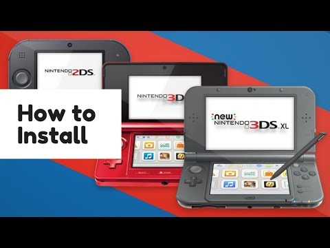 RetroArch - How to Install : 3DSXL, 3DS, 2DSXL and 2DS - YouTube
