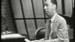 CY COLEMAN ON ART FORD playing WHY TRY TO CHANGE ME NOW