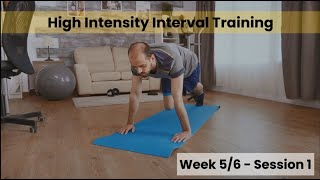 HIIT - Week 5&6 Session 1
