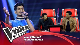 Nadun Avishka - Suraloke Man (සුරලෝකේ මං) | Blind Auditions | The Voice Sri Lanka Thumbnail