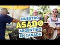 Un Asado Argentin à la Parilla au Canada